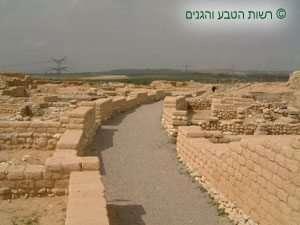 סידור הרחובות בתל באר שבע