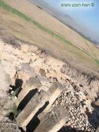 תצפית לעבר העורף החקלאי של חצור המקראית