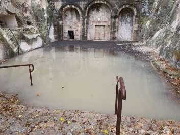 הצפה בבית שערים - צילמה עדן רחאל