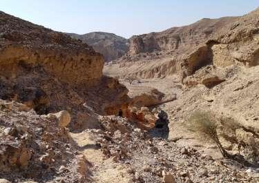 שביל חדש בקניון עדה שבהר הנגב
