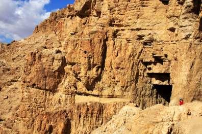 מערת בר כוכבא בנחל בואדי מרובעת. צילום: יעקב שקולניק