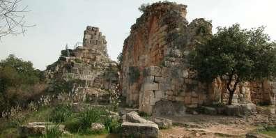 מבצר מונפור. צילום: צביקה צוק
