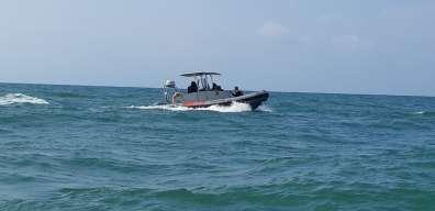 סירת פיקוח של היחידה הימית