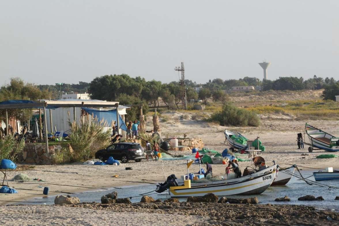 כפר הדייגים בג'סר אזרקה