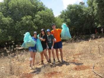 איסוף פסולת - צילום סער שירן