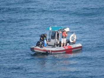 סירת פיקוח במבצע אכיפת איסור דיג