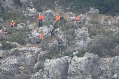 חילוץ גוזל נשר בכרמל - צילום צילום יוסי אבגנה רטג