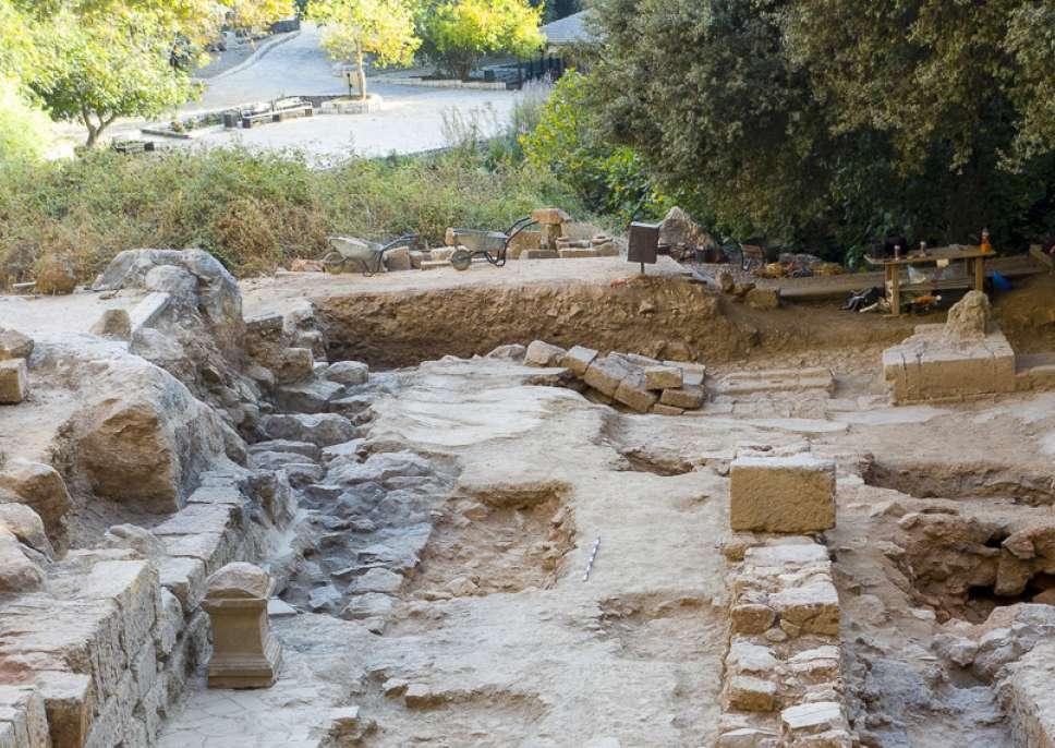 כנסייה צלבנית התגלתה בבניאס