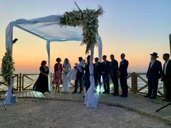 חתונה בגן לאומי קיסריה צילום סוזי רונן
