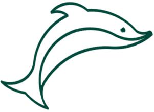 אייקון דולפין ירוק